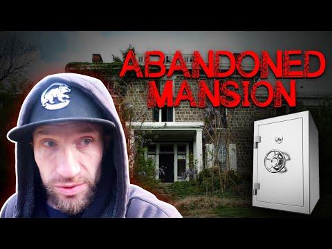 WE FOUND AN ABANDONED MANSION!!! (SAFE FOUND INSIDE!!)