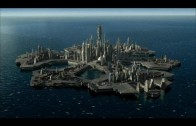 Lost City Of Atlantis, Rising From the Ocean and Leaving Orbit