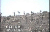 Cammo Dudes Filmed from Short Distance at Area 51 Border Line in 2000 – FindingUFO