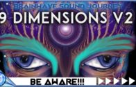 9 DIMENSIONS OUT OF BODY / INSTANT OBE / ASTRAL PROJECTION: Theta Binaural Beats Meditation Music